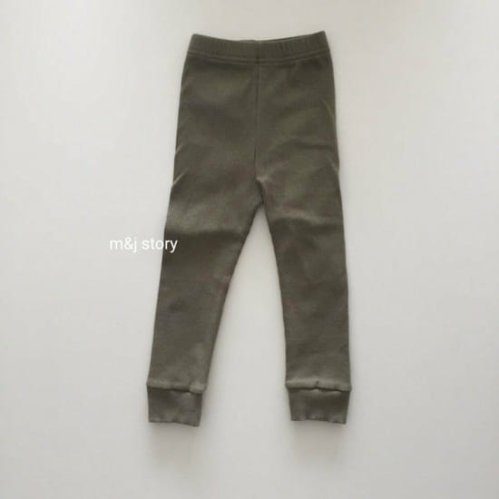M & J STORY - Korean Children Fashion - #Kfashion4kids - Simple Leggings - 2