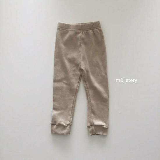 M & J STORY - Korean Children Fashion - #Kfashion4kids - Simple Leggings - 3