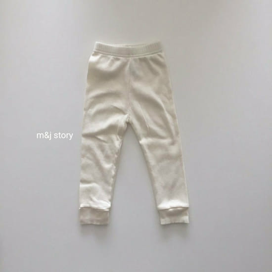 M & J STORY - Korean Children Fashion - #Kfashion4kids - Simple Leggings - 4