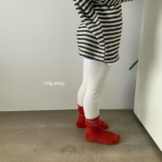 M & J STORY - Korean Children Fashion - #Kfashion4kids - Simple Leggings - 7