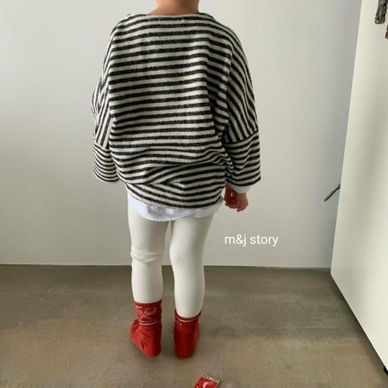 M & J STORY - Korean Children Fashion - #Kfashion4kids - Stripes Tee - 7
