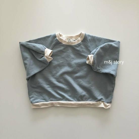 M & J STORY - Korean Children Fashion - #Kfashion4kids - Spring Raglan Sweatshirt - 2