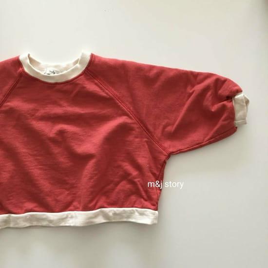 M & J STORY - Korean Children Fashion - #Kfashion4kids - Spring Raglan Sweatshirt - 3