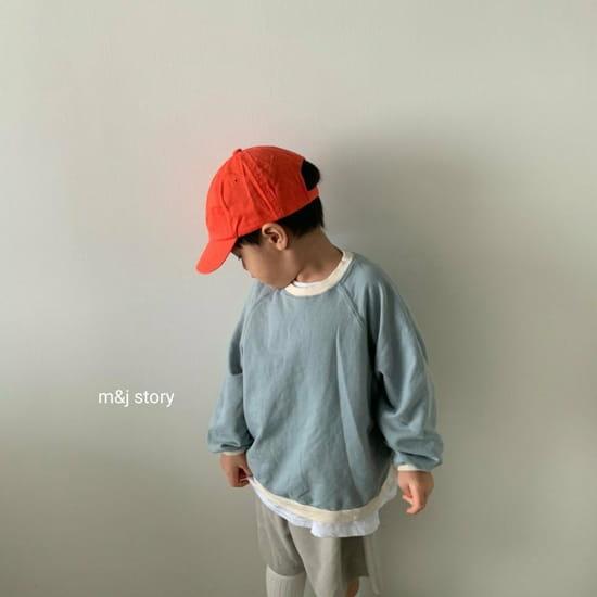 M & J STORY - Korean Children Fashion - #Kfashion4kids - Spring Raglan Sweatshirt - 4