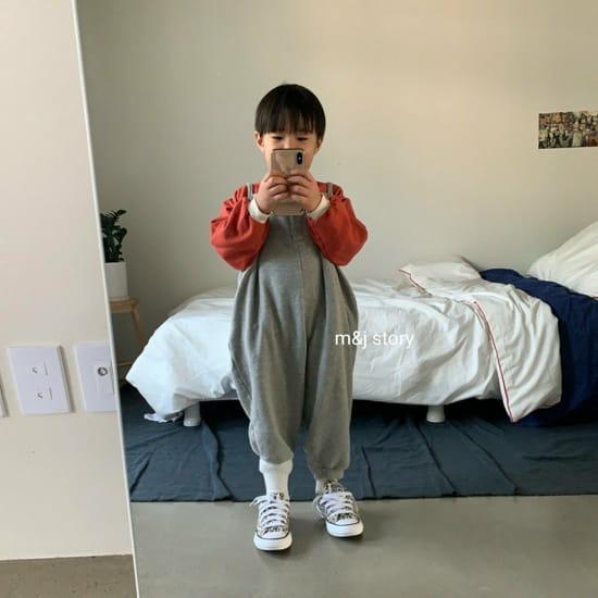 M & J STORY - Korean Children Fashion - #Kfashion4kids - Spring Raglan Sweatshirt - 6
