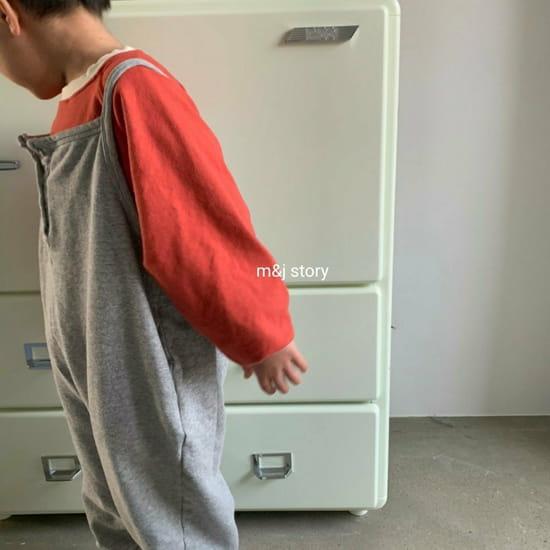 M & J STORY - Korean Children Fashion - #Kfashion4kids - Spring Raglan Sweatshirt - 7