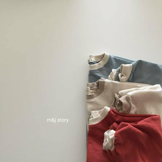 M & J STORY - Korean Children Fashion - #Kfashion4kids - Spring Raglan Sweatshirt - 9