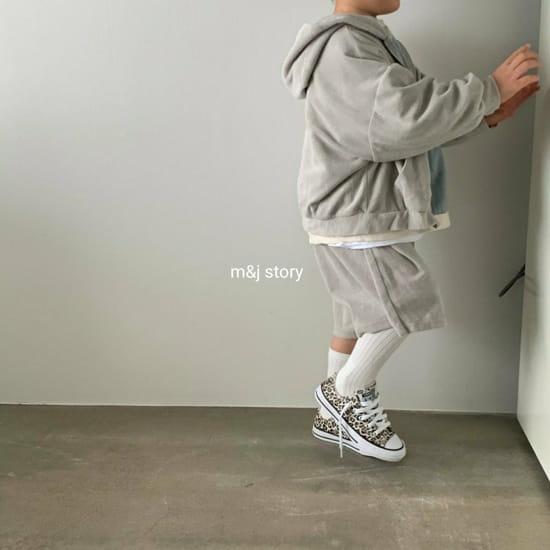M & J STORY - Korean Children Fashion - #Kfashion4kids - Boost Top Bottom Set - 2