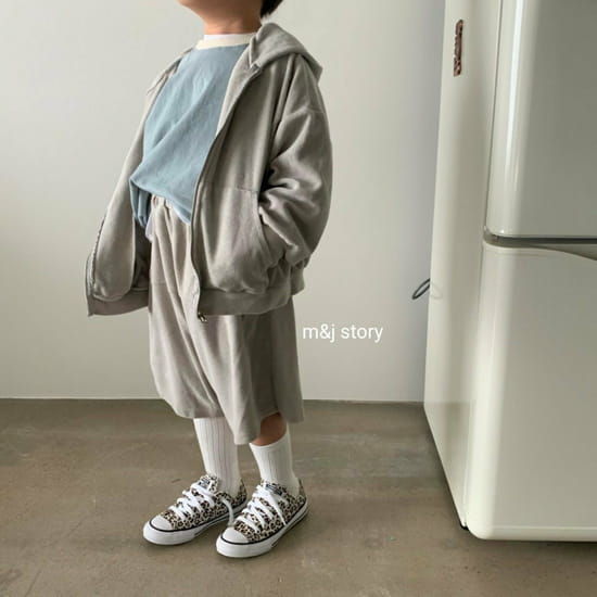 M & J STORY - Korean Children Fashion - #Kfashion4kids - Boost Top Bottom Set - 4