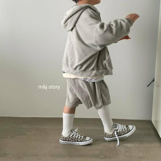 M & J STORY - BRAND - Korean Children Fashion - #Kfashion4kids - Boost Top Bottom Set