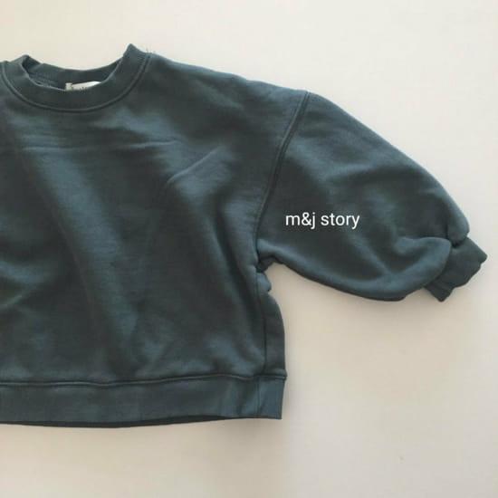 M & J STORY - Korean Children Fashion - #Kfashion4kids - Dart Terry Top bottom Set - 5