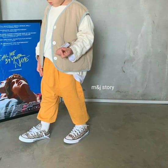 M & J STORY - Korean Children Fashion - #Kfashion4kids - Cushion Vest Jumper - 7