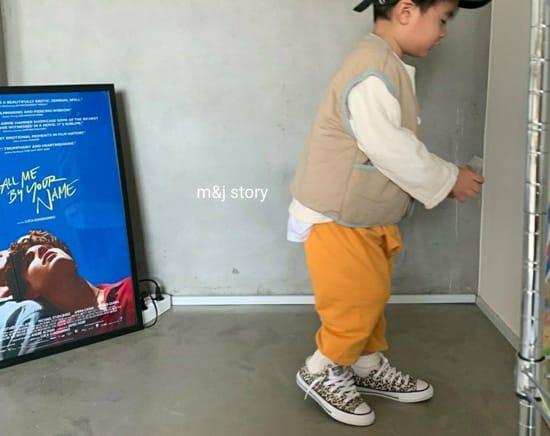 M & J STORY - Korean Children Fashion - #Kfashion4kids - Cushion Vest Jumper - 8