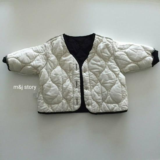 M & J STORY - Korean Children Fashion - #Kfashion4kids - Quilting Jumper - 4