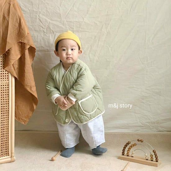 M & J STORY - Korean Children Fashion - #Kfashion4kids - Quilting Jumper - 6