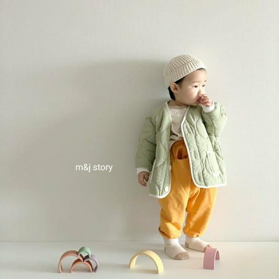 M & J STORY - Korean Children Fashion - #Kfashion4kids - Quilting Jumper - 7