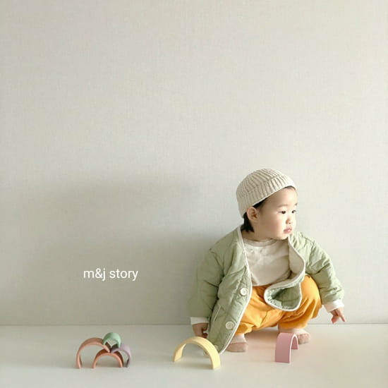 M & J STORY - Korean Children Fashion - #Kfashion4kids - Quilting Jumper - 8