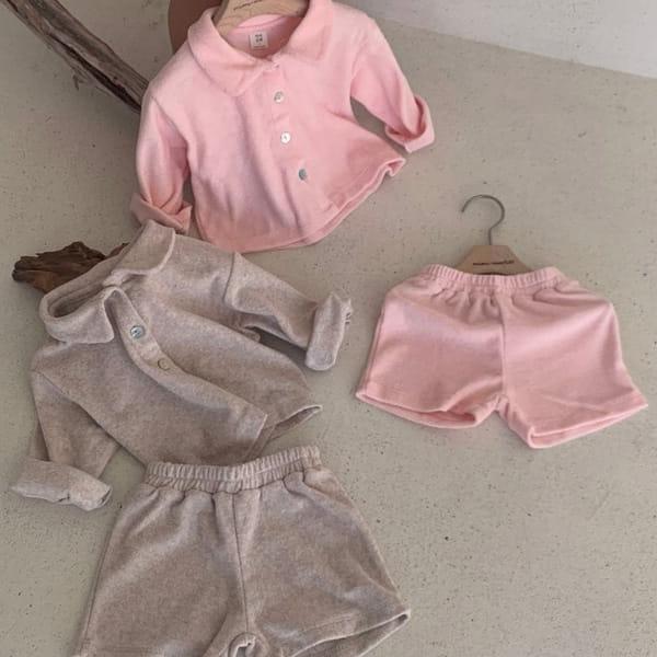 MIMI MARKET - BRAND - Korean Children Fashion - #Kfashion4kids - Miu Top Bottom Set