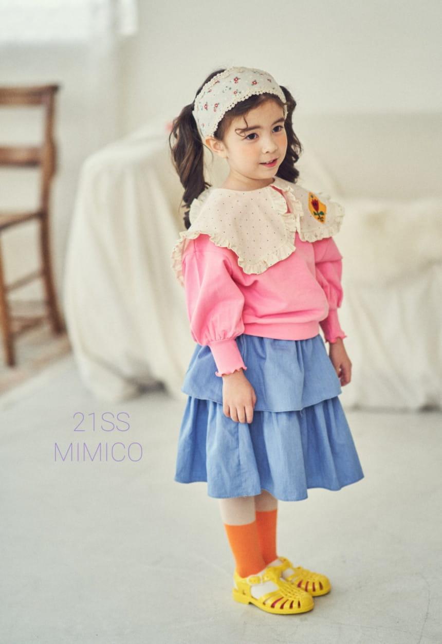 MIMICO - Korean Children Fashion - #Kfashion4kids - Mini Spring Tee