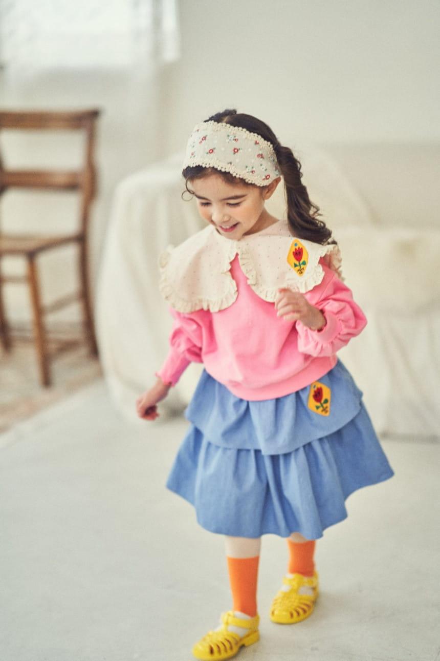 MIMICO - Korean Children Fashion - #Kfashion4kids - Mini Spring Tee - 2