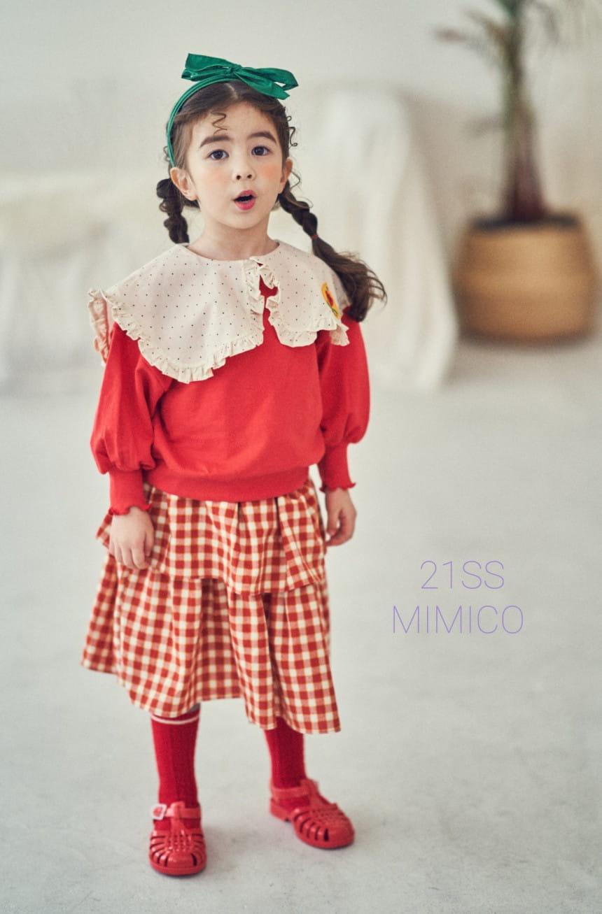 MIMICO - Korean Children Fashion - #Kfashion4kids - Mini Spring Tee - 3