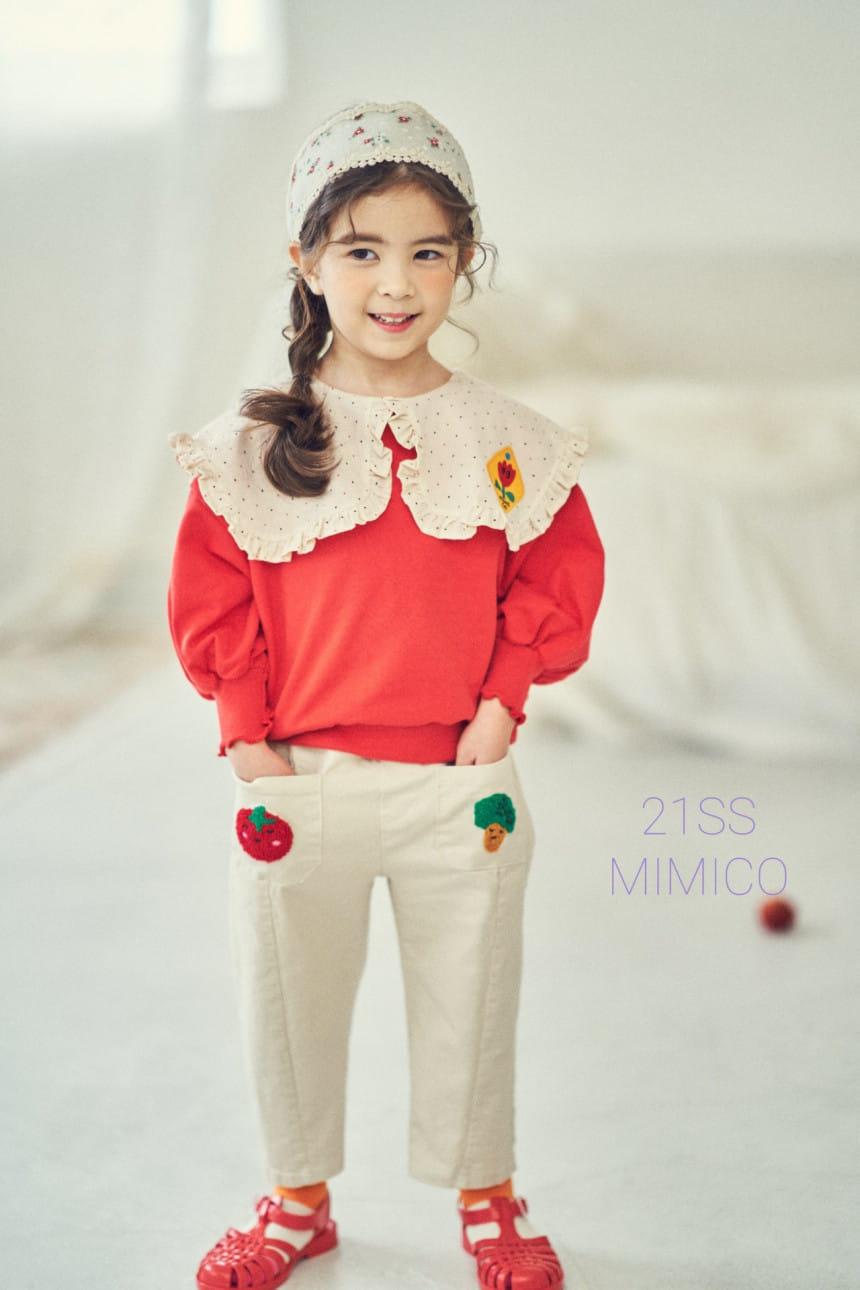 MIMICO - BRAND - Korean Children Fashion - #Kfashion4kids - Mini Spring Tee