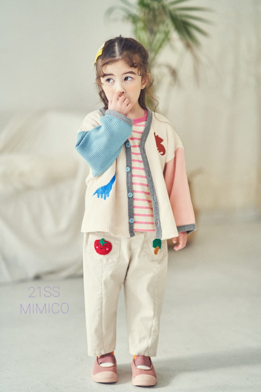 MIMICO - Korean Children Fashion - #Kfashion4kids - Mini Spring Span Pants - 4