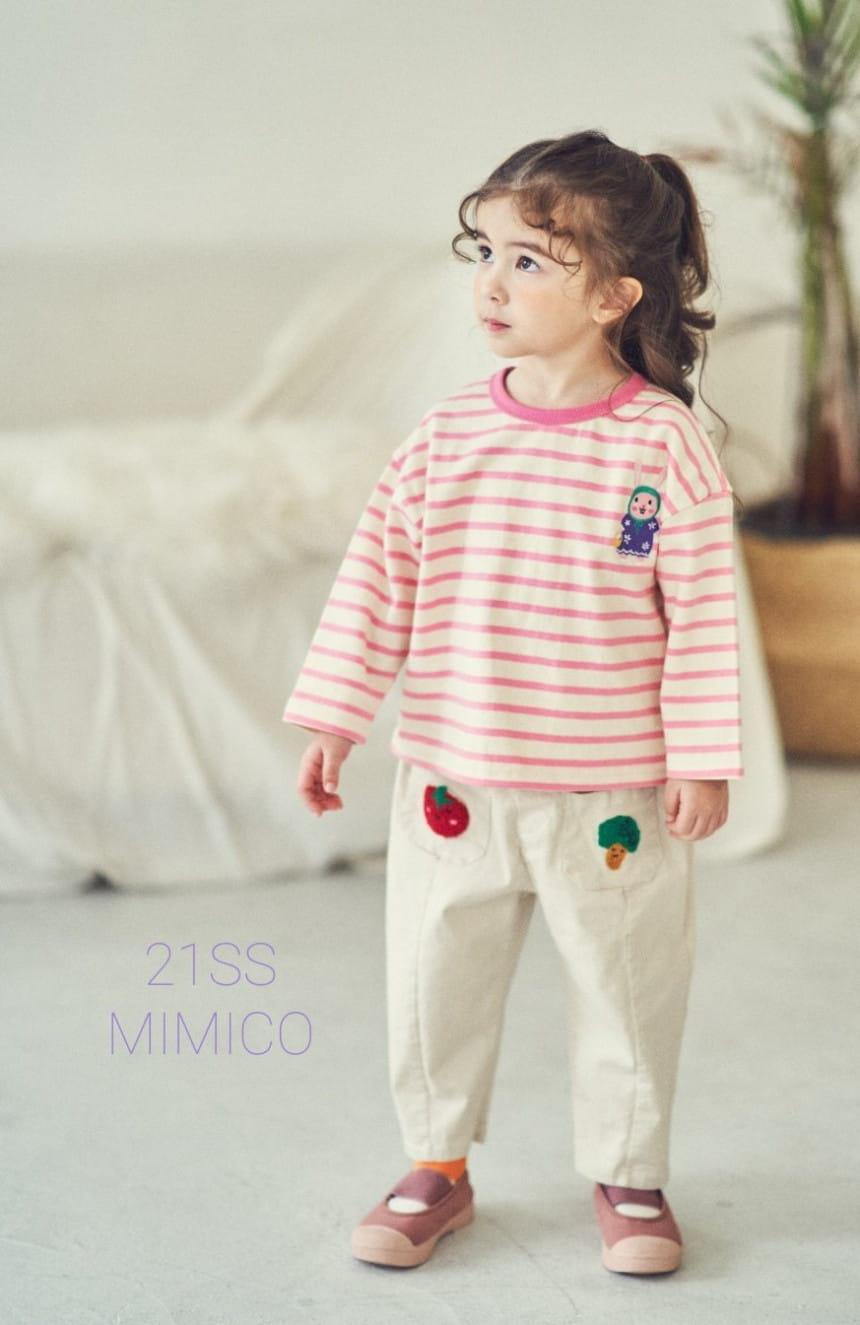MIMICO - BRAND - Korean Children Fashion - #Kfashion4kids - Mini Spring Span Pants