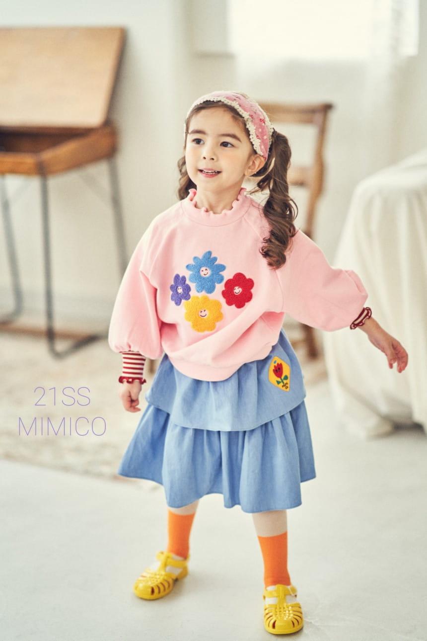 MIMICO - BRAND - Korean Children Fashion - #Kfashion4kids - Mini Spring Cancan Skirt