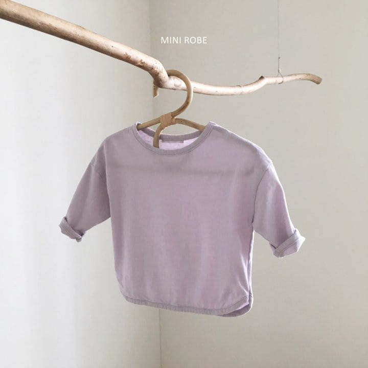 MINI ROBE - Korean Children Fashion - #Kfashion4kids - Basic Tee - 2
