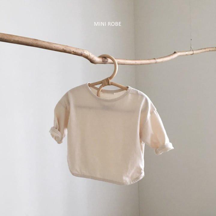 MINI ROBE - Korean Children Fashion - #Kfashion4kids - Basic Tee - 4