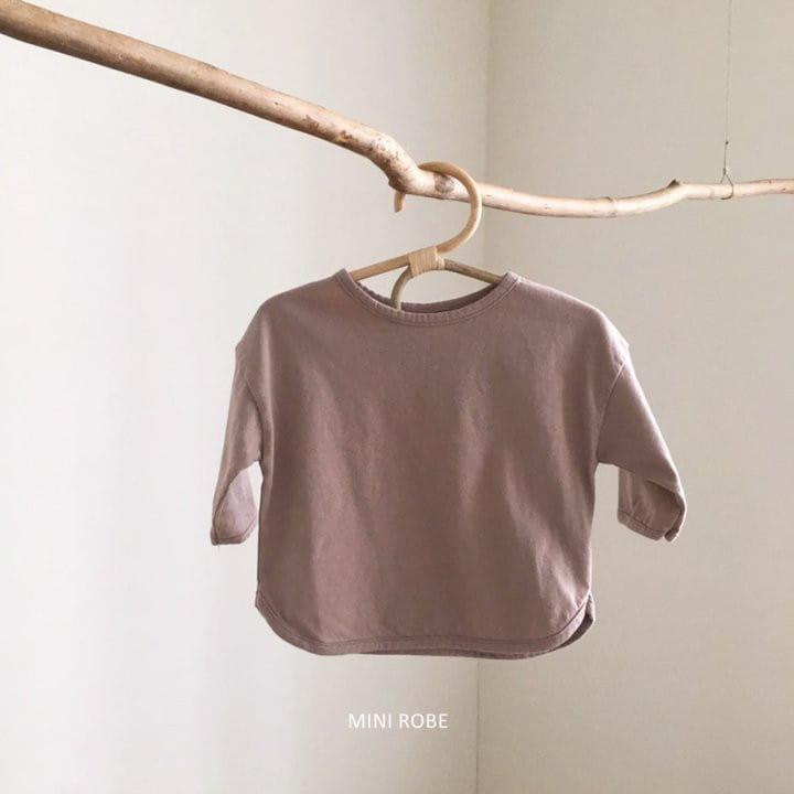 MINI ROBE - Korean Children Fashion - #Kfashion4kids - Basic Tee - 6