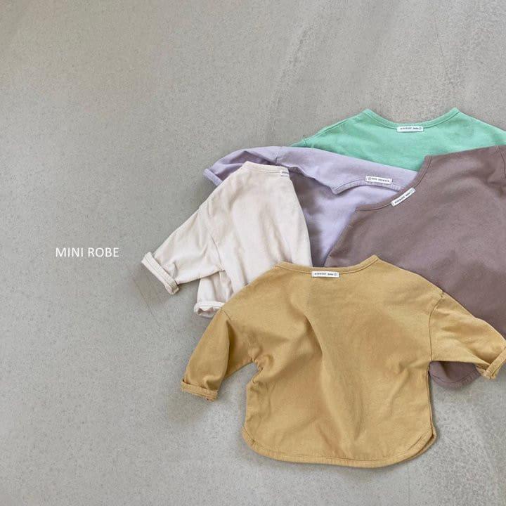 MINI ROBE - Korean Children Fashion - #Kfashion4kids - Basic Tee - 8