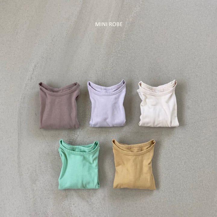 MINI ROBE - Korean Children Fashion - #Kfashion4kids - Basic Tee - 9