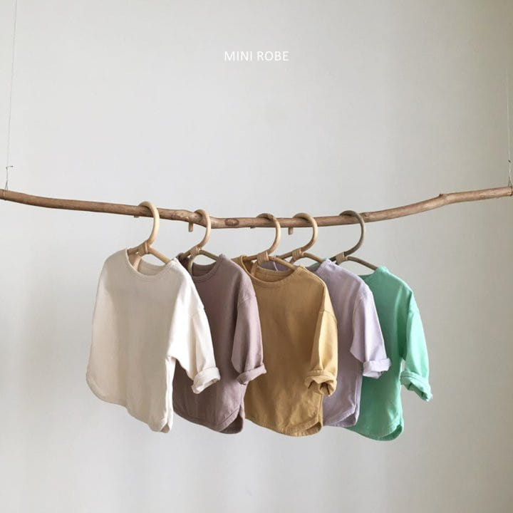 MINI ROBE - BRAND - Korean Children Fashion - #Kfashion4kids - Basic Tee