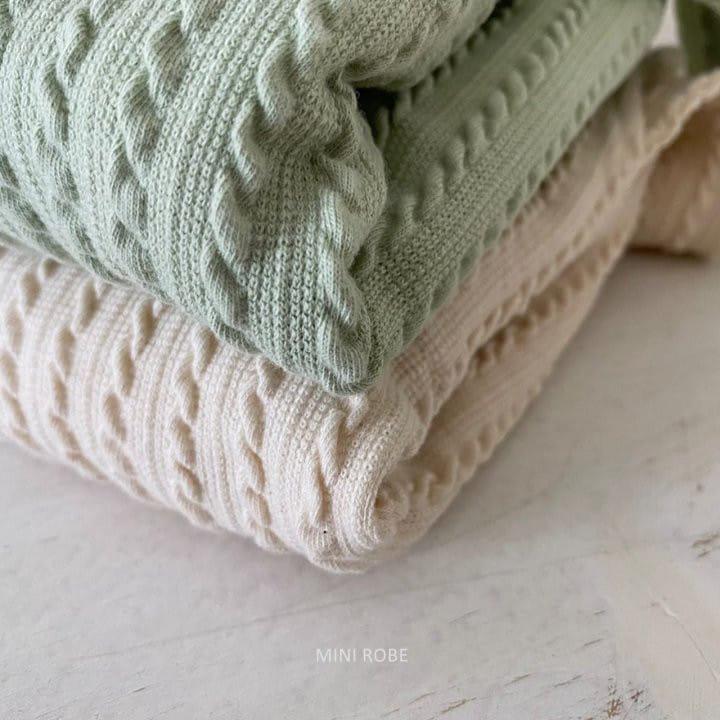 MINI ROBE - Korean Children Fashion - #Kfashion4kids - Twist Knit Dungrees - 8