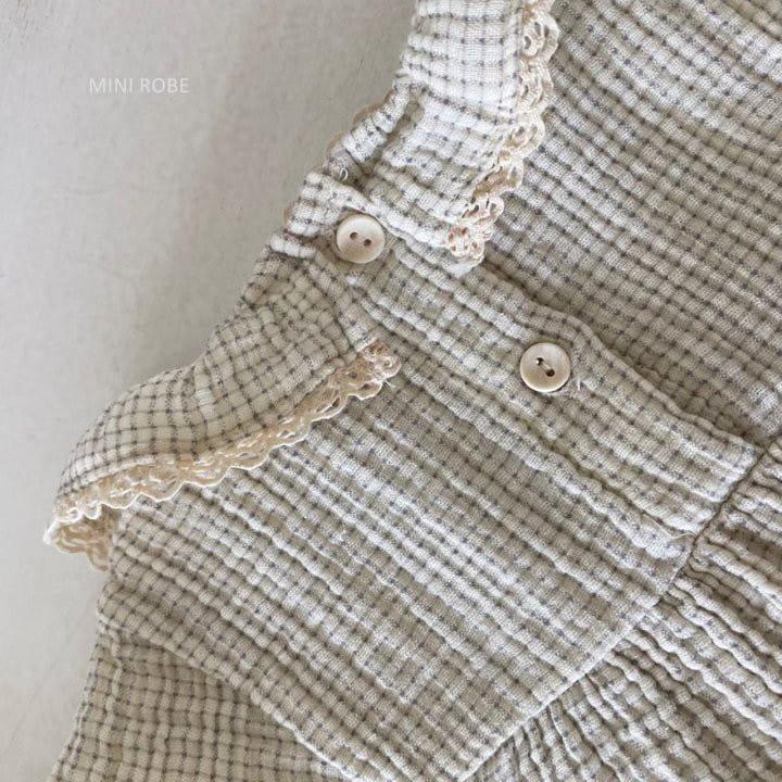 MINI ROBE - Korean Children Fashion - #Kfashion4kids - Frill Bodysuit