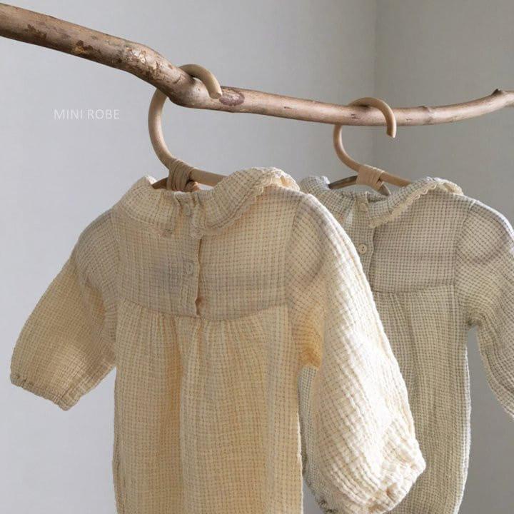 MINI ROBE - Korean Children Fashion - #Kfashion4kids - Frill Bodysuit - 10