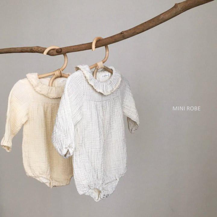 MINI ROBE - Korean Children Fashion - #Kfashion4kids - Frill Bodysuit - 11