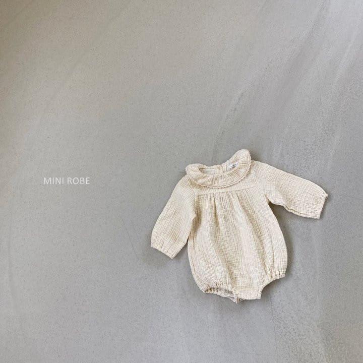 MINI ROBE - Korean Children Fashion - #Kfashion4kids - Frill Bodysuit - 3