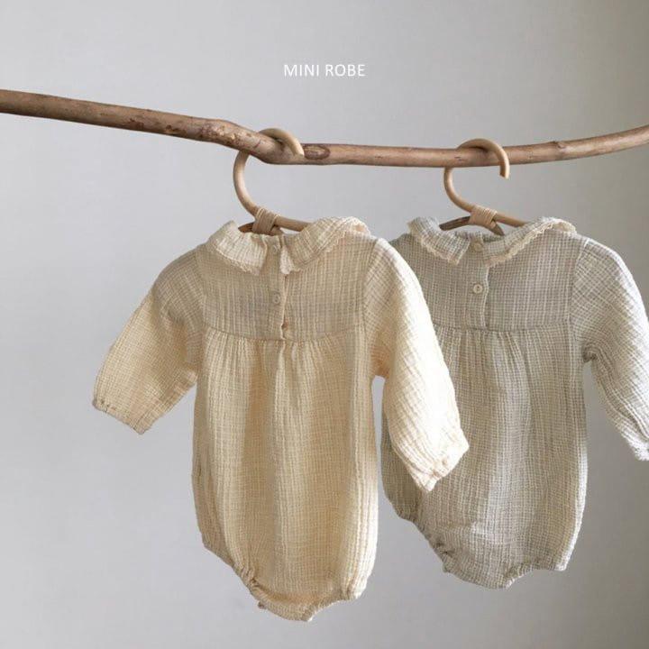 MINI ROBE - Korean Children Fashion - #Kfashion4kids - Frill Bodysuit - 7
