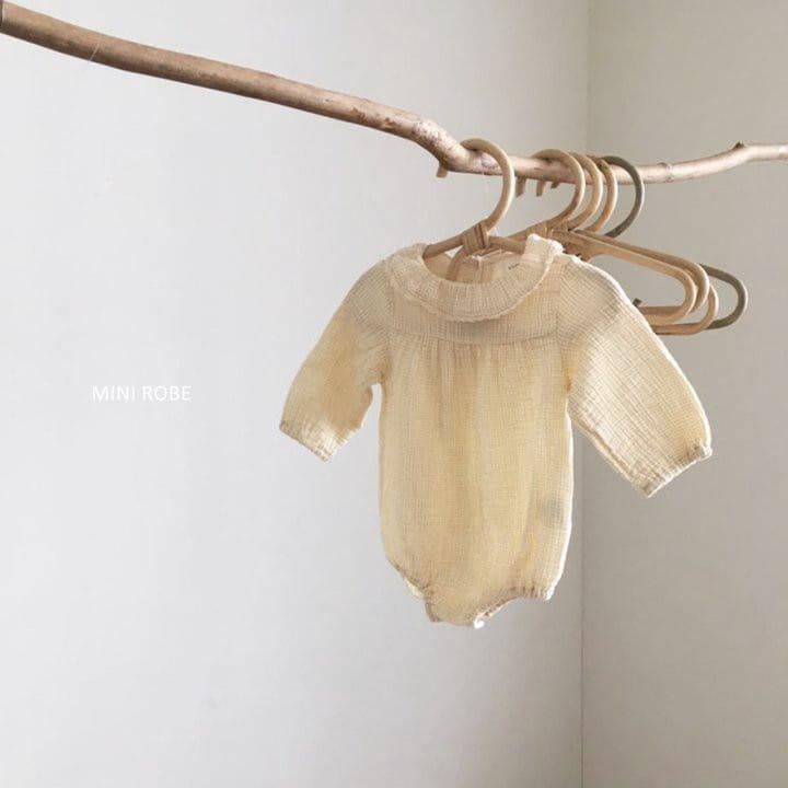 MINI ROBE - Korean Children Fashion - #Kfashion4kids - Frill Bodysuit - 9