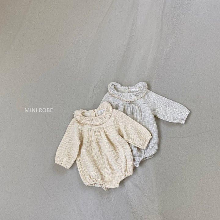 MINI ROBE - BRAND - Korean Children Fashion - #Kfashion4kids - Frill Bodysuit