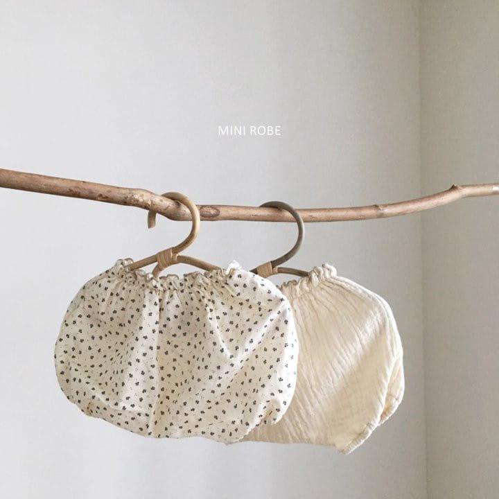 MINI ROBE - BRAND - Korean Children Fashion - #Kfashion4kids - Pumkin Bloomer