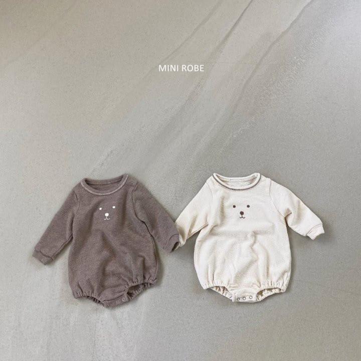 MINI ROBE - Korean Children Fashion - #Kfashion4kids - Teddy Bear Bodysuit