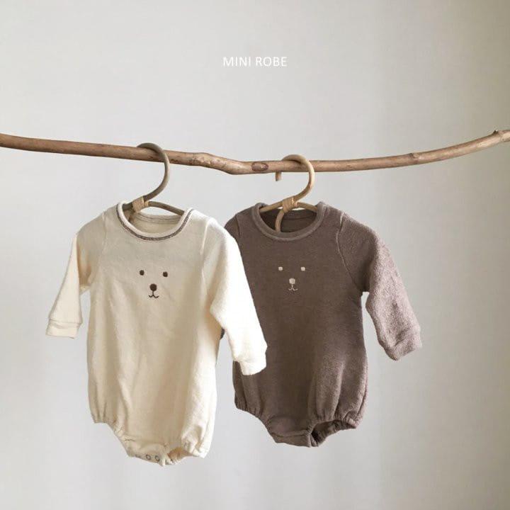 MINI ROBE - Korean Children Fashion - #Kfashion4kids - Teddy Bear Bodysuit - 4
