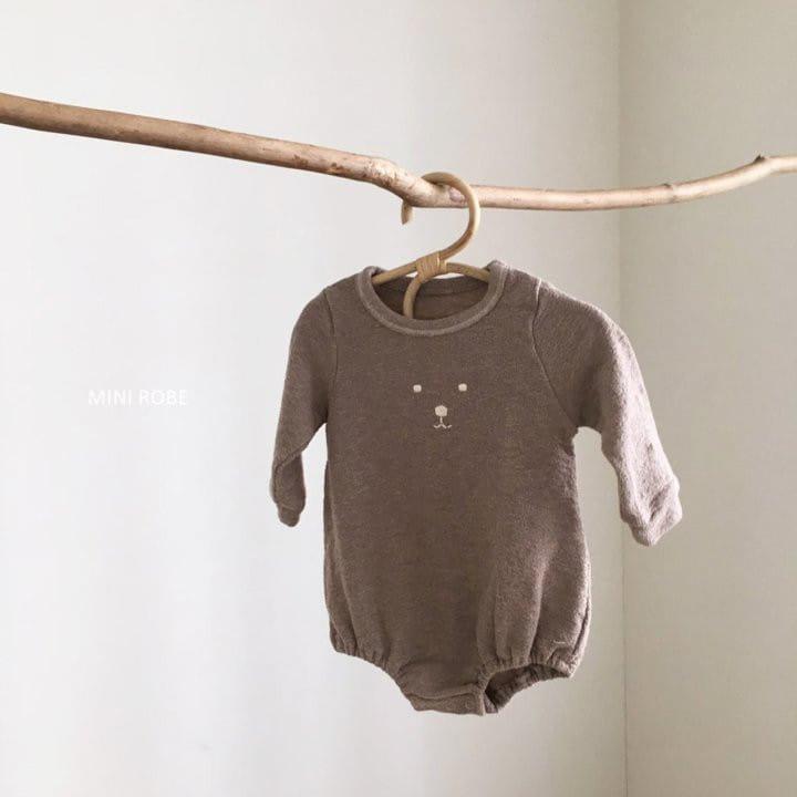 MINI ROBE - Korean Children Fashion - #Kfashion4kids - Teddy Bear Bodysuit - 5