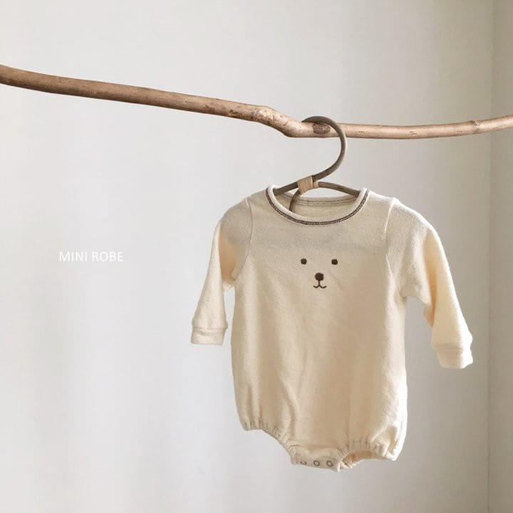 MINI ROBE - Korean Children Fashion - #Kfashion4kids - Teddy Bear Bodysuit - 6