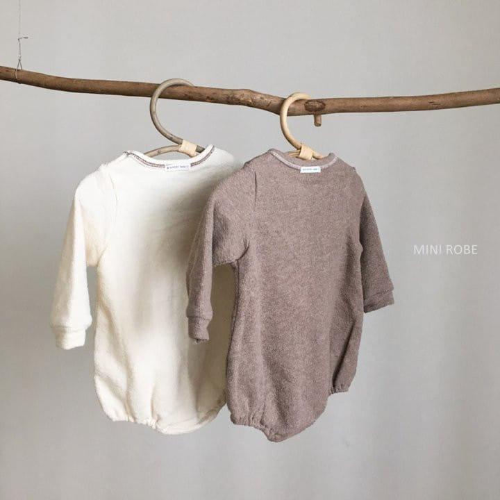MINI ROBE - Korean Children Fashion - #Kfashion4kids - Teddy Bear Bodysuit - 7