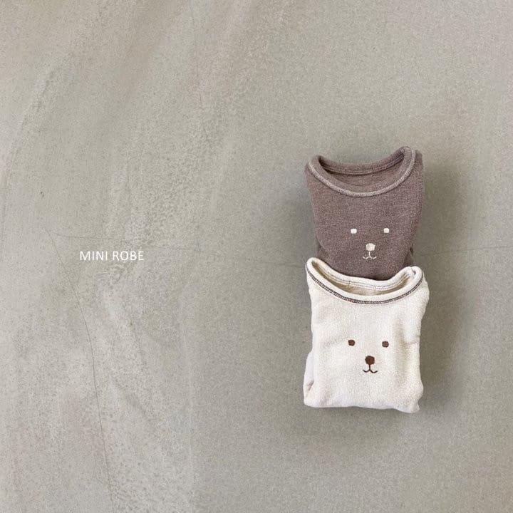 MINI ROBE - Korean Children Fashion - #Kfashion4kids - Teddy Bear Bodysuit - 8